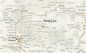 show map show low location guide
