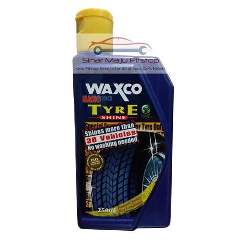 Waxco Nano Protectant 250 Ml waxco nano tech tyre shine semir hitam ban mobil 250 ml