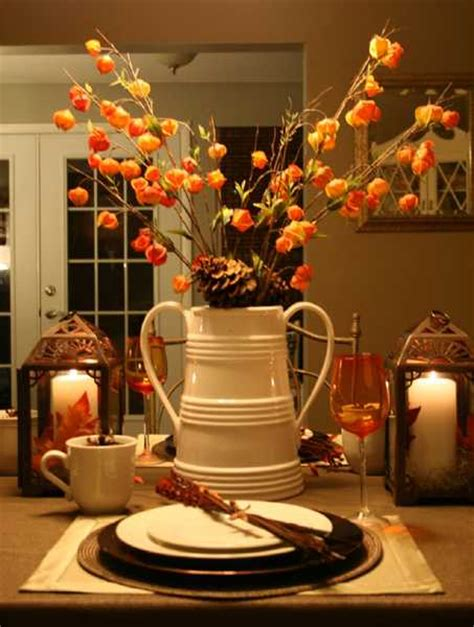 Fall Table Decorations Ideas For 25 Fall Flower Arrangements Enhancing The Spirit Of Thanksgiving Table Decorating