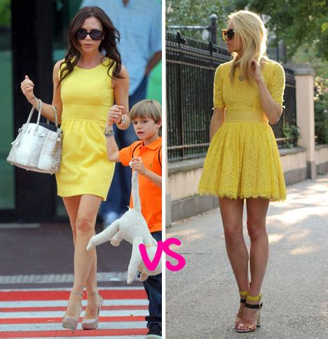 Whats Beckhams Signature Style by Vs Beckham Vs Blair Eadie
