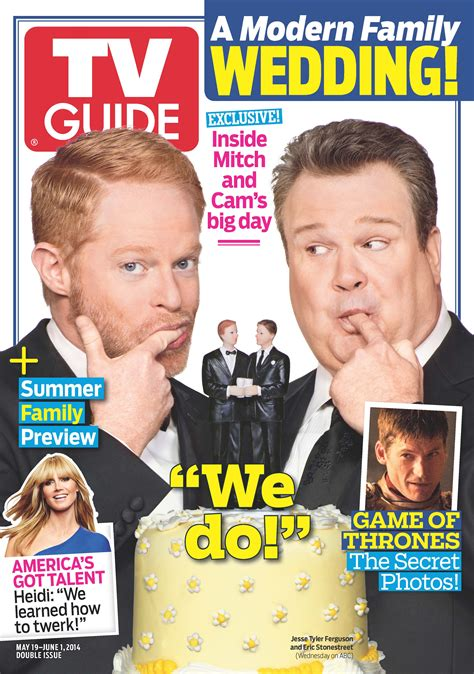 modern family tv listings tvguide tv guide magazine debuts exclusive cover photo and story