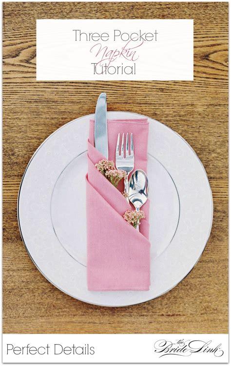 Paper Napkin Folding Ideas For Weddings - guardanapos pitacos e achados acesse https