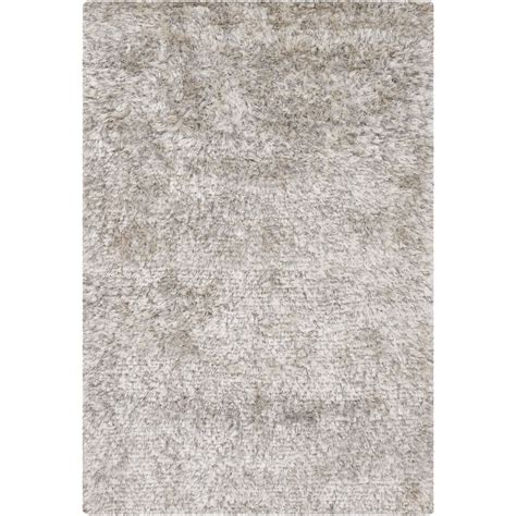 White Rug by Chandra Rugs White Shag Rug Dio14400