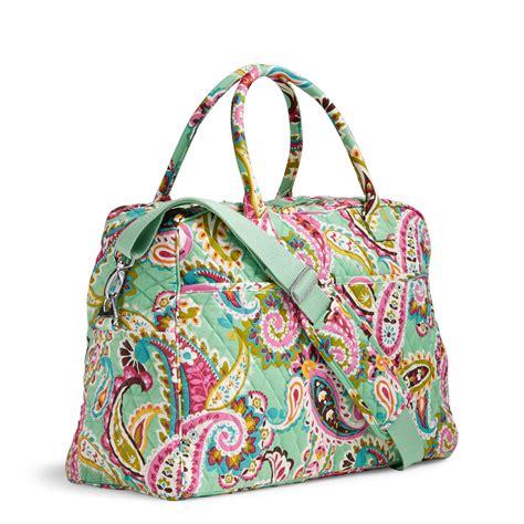 vera bradley factory exclusive weekender bag ebay