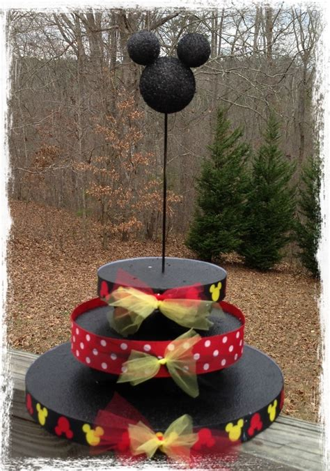 Standing Cup Mickey Mouse Stand Cake mickey mouse cake pop stand crafts