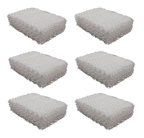 6 humidifier filters for duracraft ac 815 ac809