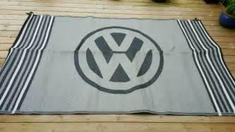 vw cervan reversible outdoor mat in fforestfach