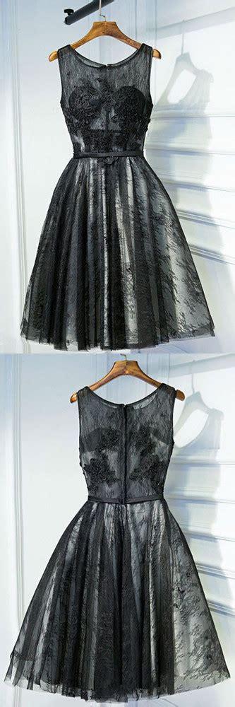 black prom dresscute short homecoming dresslace simple