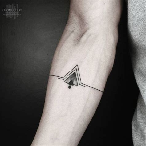guy getting triangle tattoo on forearm ideas tattoo top 25 best triangle tattoos ideas on pinterest meaning