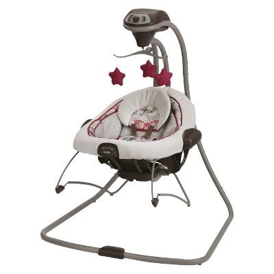 best baby swing and bouncer combo graco 174 duet connect 2 in 1 swing and bouncer target