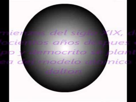 modelo atomico de democrito modelos atomicos youtube