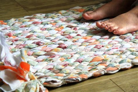 how to make rag rugs from sheets 15 unconventional ways to use bed sheets
