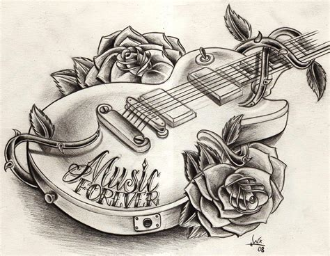 guitar tattoo designs free guitar tattoos and designs page 129