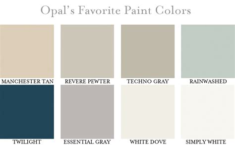 opal s favorite paint colors opal design