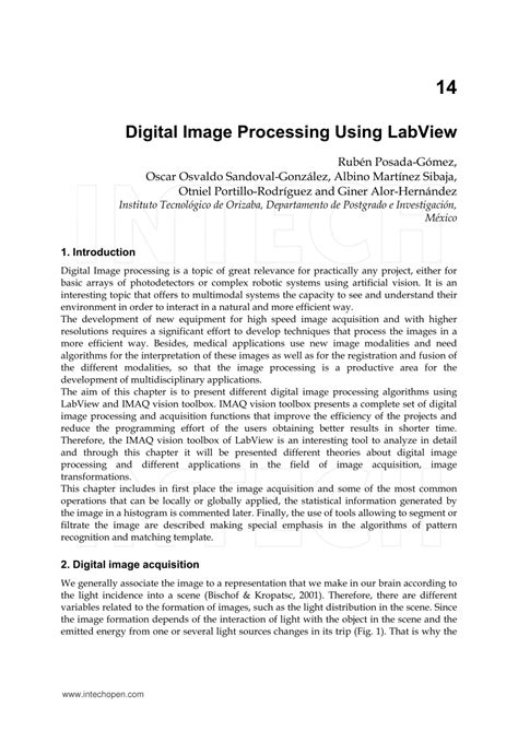 digital image processing research papers pdf digital image processing using labview pdf
