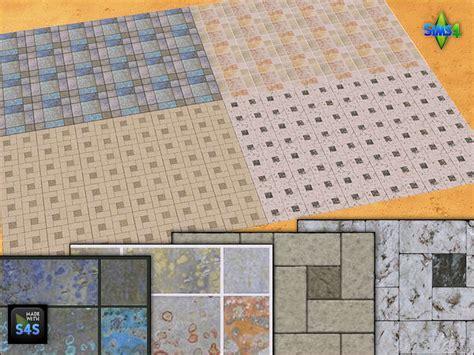 the sims 4 flooring set 4 flooring sets by mabra at arte della vita 187 sims 4