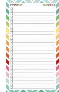 Free Printable List Templates Blank List Half Page Sweet Home Sweet And Home