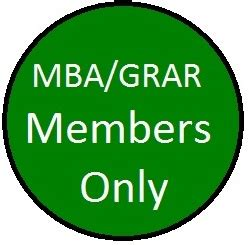 Mba Org Membership by Mba Grar Member Mortgage Bankers Association