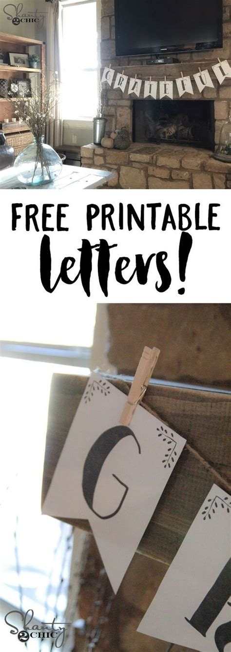 free printable letters on pinterest free printable letter banners 졸업 폰트 및 알파벳