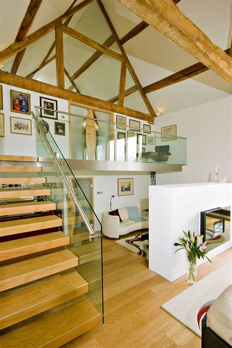 scheune orr contemporary conversion of an barn by the