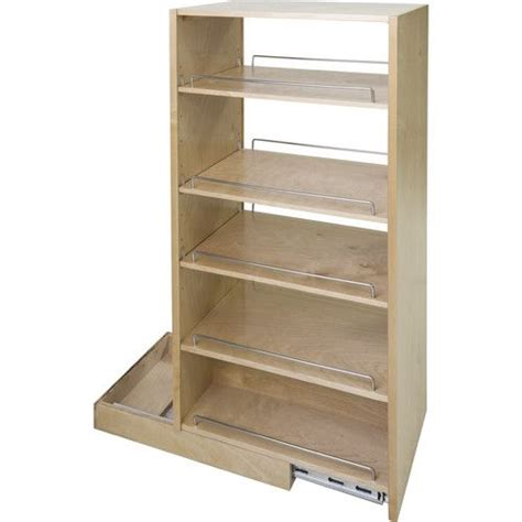 pantry cabinet pull out roll out pantry insert real wood