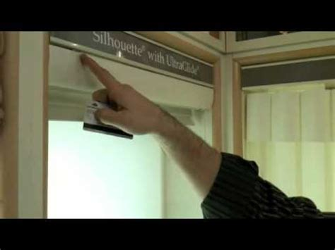Installing Douglas Blinds douglas silhouette remove and re install