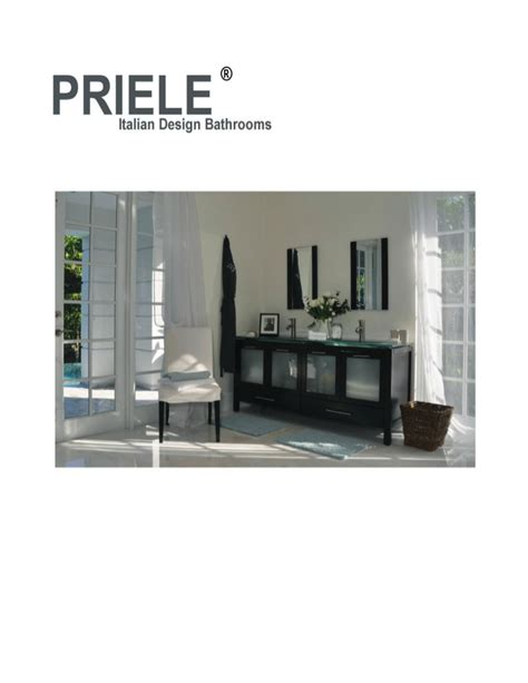 priele bathroom priele catalog miami bathroom vanities cabinets shower panels