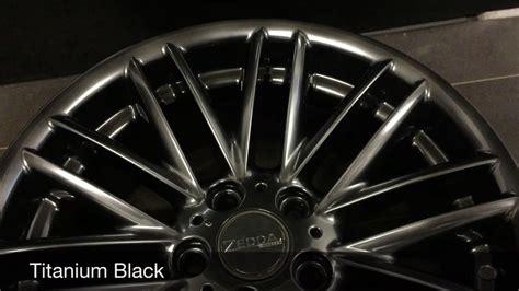 Felgen Black Chrome Lackieren zd titanium black felgen pulverbeschichtung pulvern