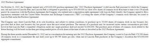 lincoln park capital fund anavex sciences miracle with a toxic financing