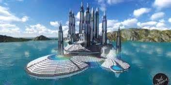 Interior Concepts Inc Futuristic Palace V2 Minecraft Building Inc