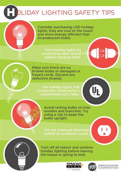 light safety tips lighting safety tips tipmont remc
