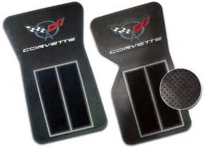 Corvette Floor Mats 68 82 C3 Corvette Deluxe Floor Mats With Carpeting Set