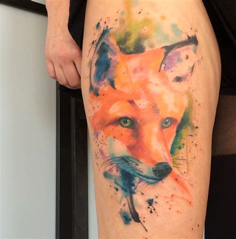 watercolor tattoo emrah emrah de lausbub ink inkobserver watercolors