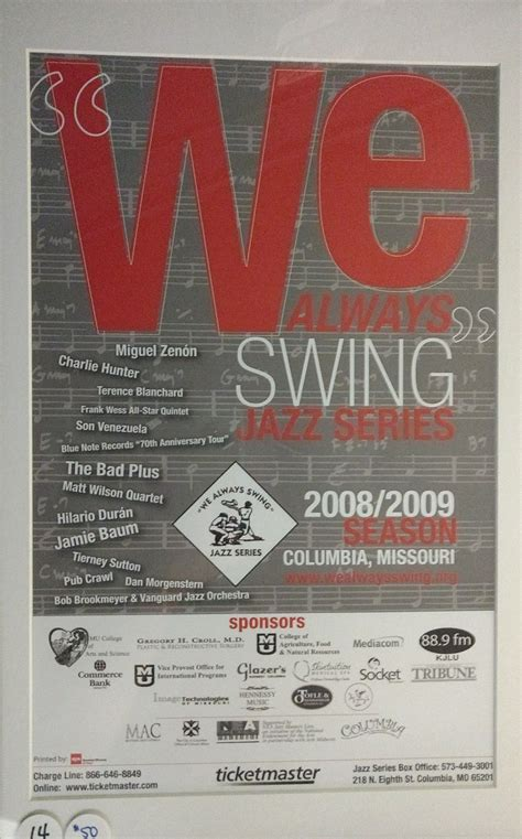 we always swing 2008 2009 quot we always swing quot jazz series season view photo