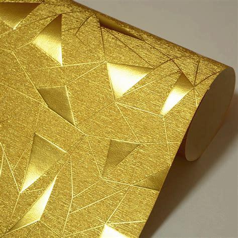 triangle pattern reflective tape beibehang papel de parede triangular irregular geometric
