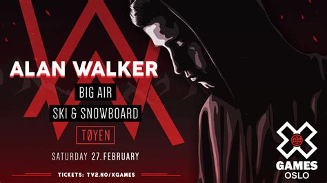 alan walker game alan walker to to make live debut at x games oslo