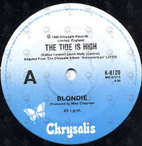 tide is high blondie blondie the tide is high 7 inch vinyl rare records