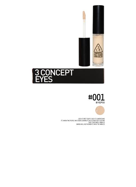 Concealer Foundation Magic Touch Maker 3ce stylenanda 3ce 3 concept cover concealer 001 concealers make up products beauty