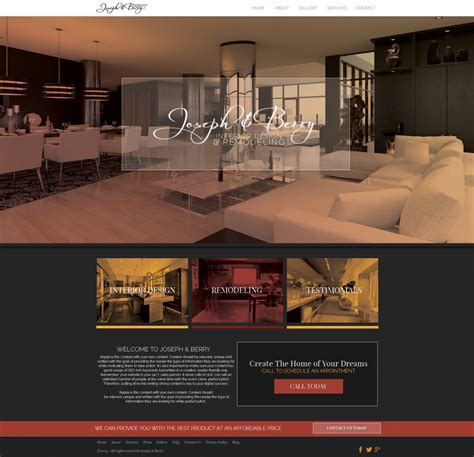 make your website interior design yola interior design marketing tips ideas and strategies