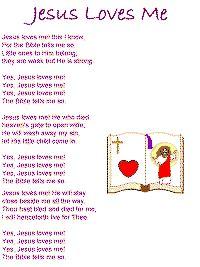 printable lyrics jesus loves me jesus loves me