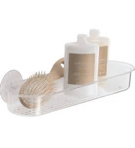 bathroom suction shelves acrylic suction shower shelf in suction organizers