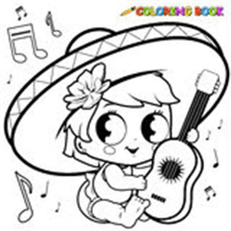 mariachi guitar coloring page mariachi stock illustrations vectors clipart 463