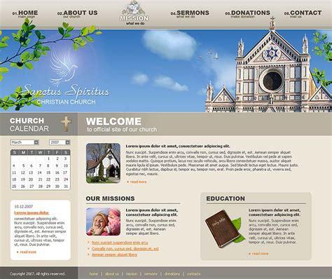 free church template
