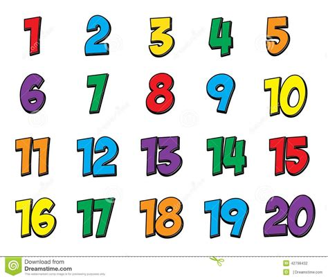 printable numbers 1 20 christmas numbers 1 20 clipart letters exle