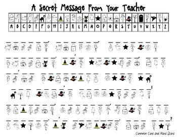 secret message worksheet secret message from your decoding