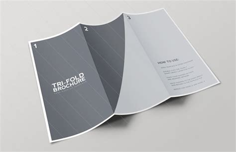 brochure mockup template 25 free psd tri folder brochure mockups freecreatives