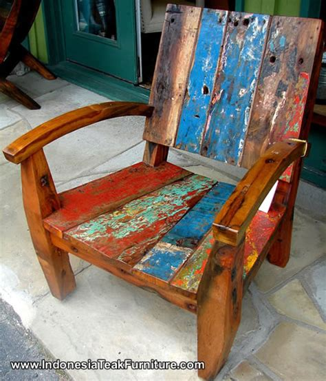 furniture made from old boats bc1 15 boat wood furniture indonesia