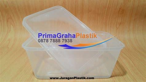 Kotak Bening Plastik Tahan Panas Untuk Microwave 1000 Ml 1000 ml kotak oven makanan large home