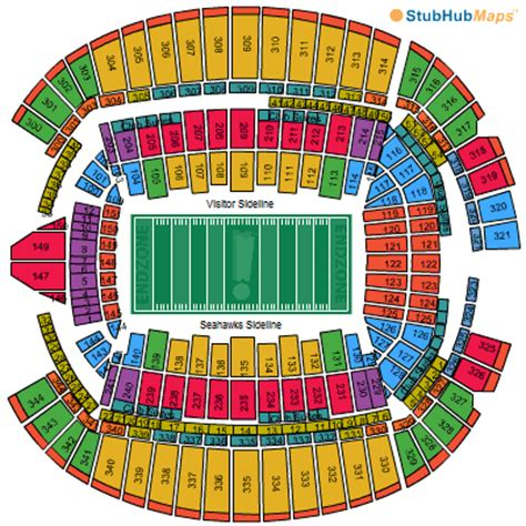 centurylink field map centurylink field seating chart pictures directions and history seattle seahawks espn