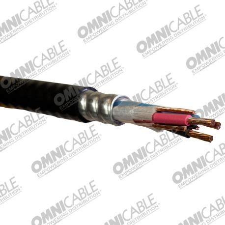 10 2 With Ground Mc Cable - 600 volt type mc hl with ground cable ccx2 1235 omni